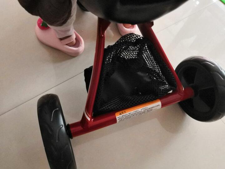 gb好孩子 儿童三轮车 宝宝自行车 脚踏车 轻便携带 黄色SR130-H002Y 晒单图