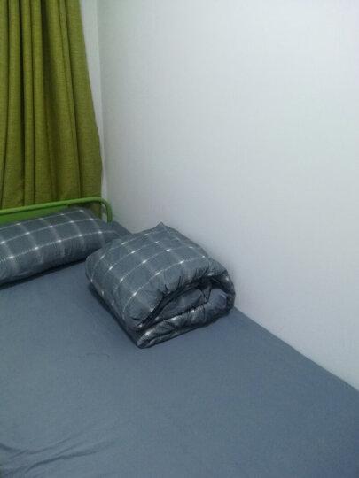 沁鑫家纺 全棉四件套纯棉北欧简约风床上用品 双人床单被套床笠款床品套件 M英伦风尚 1.5米床单款(被套200*230)四件套 晒单图
