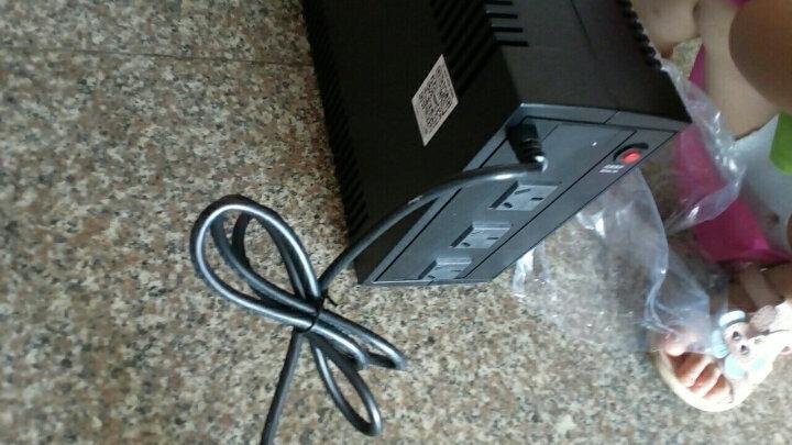 Cyberpower UPS不间断电源家用220v停电备用电源台式电脑稳压器在线互动式路由器ups 600W单电脑50分钟 晒单图