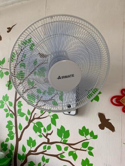 艾美特(Airmate)电风扇 壁扇 工业风扇 五叶静音 3档风量 FW4035T2 晒单图