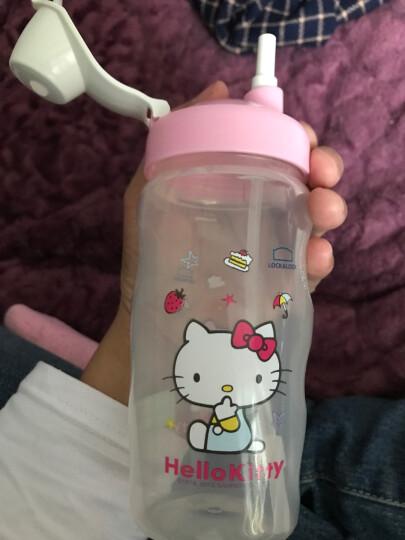乐扣乐扣(LOCK&LOCK)HELLO KITTY儿童易开型水杯学生杯运动水壶杯子500ml(粉色)HPP727-CKT 晒单图