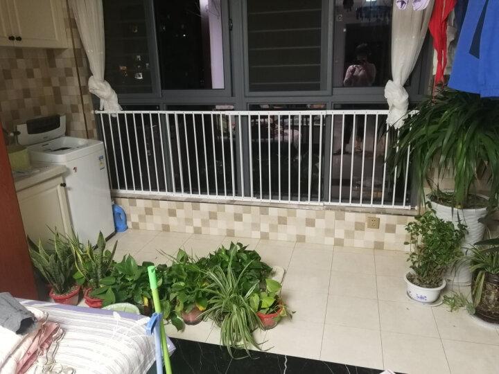 攸曼诚品(EUDEMON)儿童安全窗户防护栏 安全飘窗护栏 高层阳台保护栏 婴儿安全围栏免打孔栏杆 4片宽度187-284cm 晒单图