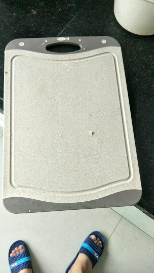 爱思得(Arsto)稻壳菜板防滑砧板小麦纤维切菜板婴儿宝宝辅食案板麦色大号(39*27*0.8cm) 晒单图