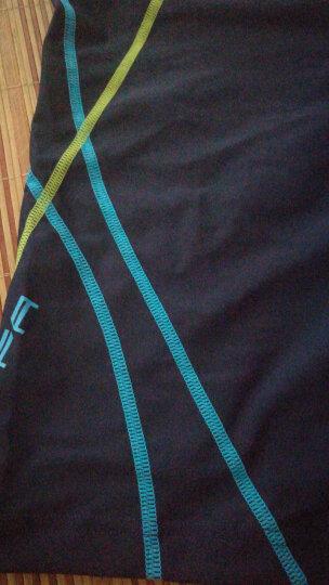 英发(YINGFA) 泳裤 男士舒适温泉度假抗氯泳装休闲训练平角时尚游泳裤 Y3587蓝色 XL 晒单图