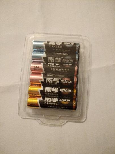 南孚 电池7号6节装无汞环保电池 碱性干电池 AAA LR03 玩具电池 晒单图