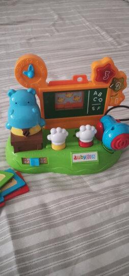 澳贝(AUBY)益智玩具宝宝玩具河马说话机婴幼儿启蒙早教教学男女孩生日礼物463447DS 晒单图