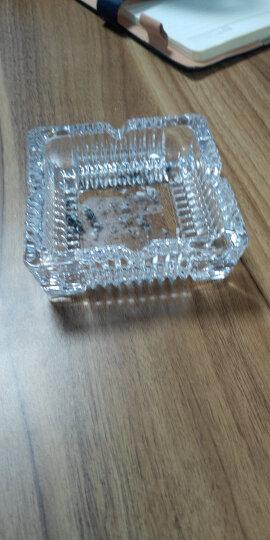 菲迪拉中号方形玻璃烟缸烟灰缸7116-3 晒单图