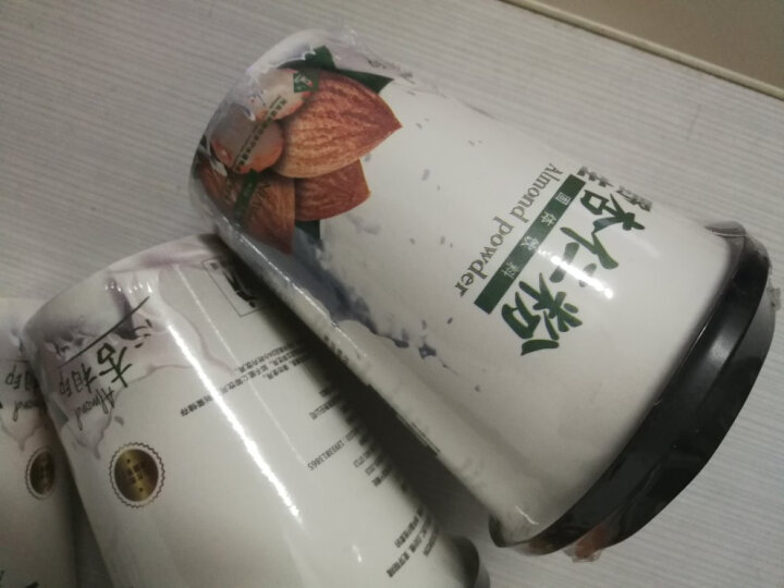 【承德扶贫馆】 福丰满野生杏仁粉 30g杯装 冲饮代餐粉饮品 2杯装 河北承德特产 晒单图