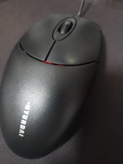 现代(HYUNDAI)有线鼠标USB接口 笔记本台式电脑办公鼠标 通用大手鼠标HY-M337黑色 晒单图
