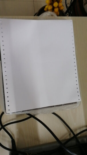 财友 CKL140 发票版通用针打空白凭证纸 241*139.7mm 打印纸2000份/箱 电子发票 晒单图