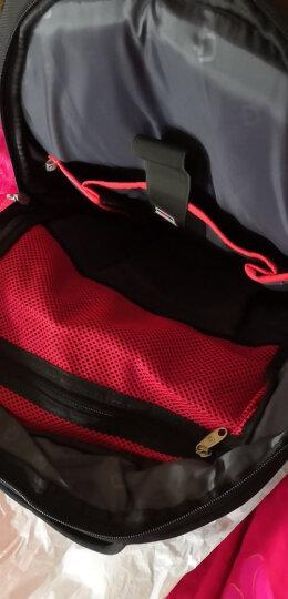 SWISSGEAR电脑双肩包 防泼水商务款15.6英寸双肩笔记本电脑包 男女学生书包背包 SA-0077紫色 晒单图
