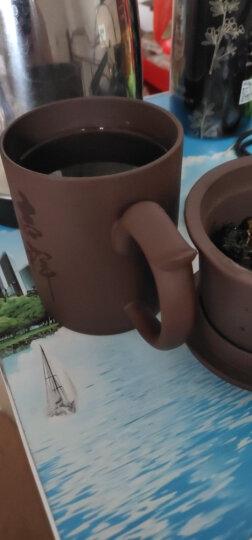 古往今来 宜兴紫砂杯 过滤功夫茶具办公茶杯非陶瓷杯子水杯 吉祥如意三件套 晒单图