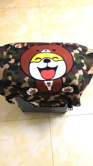 班哲尼 拉杆箱旅行箱保护套弹力行李箱套防尘罩加厚耐磨托运套 小柴犬适用26英寸27英寸28英寸29英寸拉杆箱 晒单图
