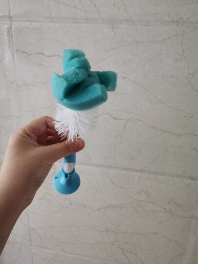 布朗博士(DrBrown's)奶瓶刷 多功能奶瓶奶嘴清洁刷子 360度清洁刷 站立式奶瓶刷 蓝色 晒单图