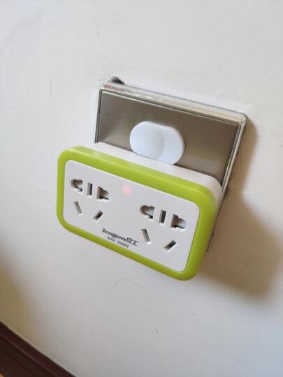 良工(lengon)转换器插座一转二电源转换插头新国标无线插排插线板 家用便携式墙壁排插 晒单图