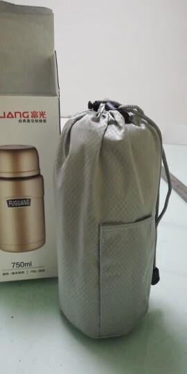 富光 304真空不锈钢焖烧罐男女便携保温杯焖烧杯保温饭盒赠送餐勺金色 750ML(FGL-3636) 晒单图