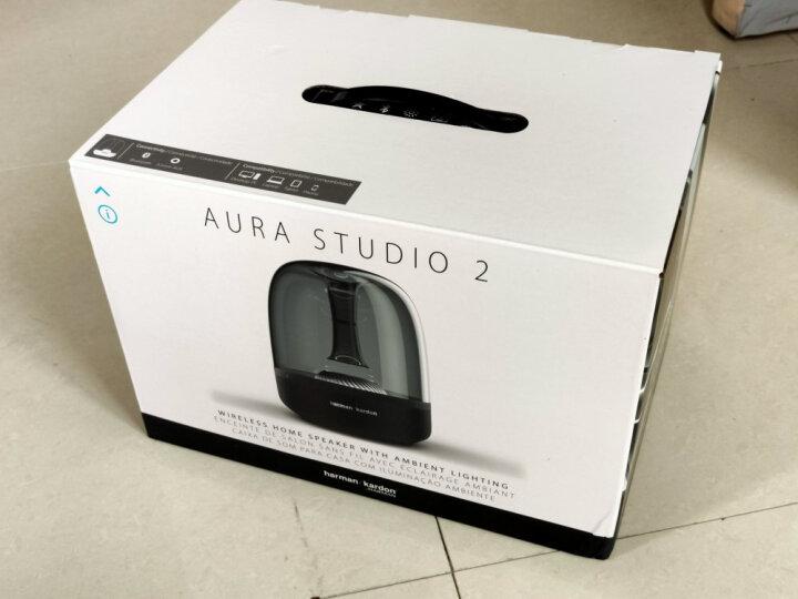 哈曼卡顿(Harman Kardon) Aura Studio2 音乐琉璃二代 无线蓝牙音箱音响 暗黑色 晒单图