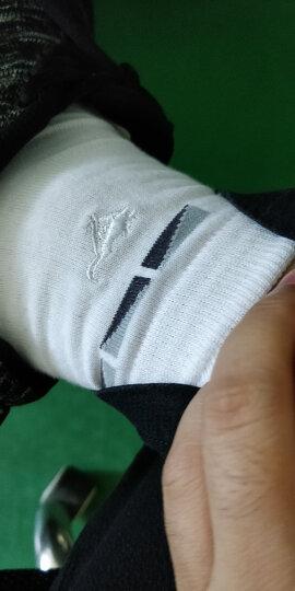 七匹狼袜子男秋季纯棉中筒袜 商务休闲棉袜舒适透气男袜 款式2(白色x6) 均码 晒单图
