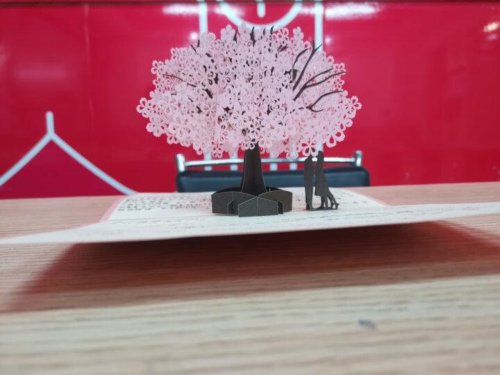 创意精美生日贺卡女生贺卡生日祝福贺卡祝福贺卡中秋贺卡幼儿园送爱人3D创意立体贺卡送老师同事感谢同学 爱神丘比特 晒单图