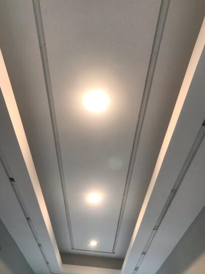 【三档调色特惠款】欧普照明OPPLE led筒灯3w超薄筒灯客厅吊顶天花灯过道嵌入式洞灯 (买6送1)调光-3瓦漆白8-9 晒单图