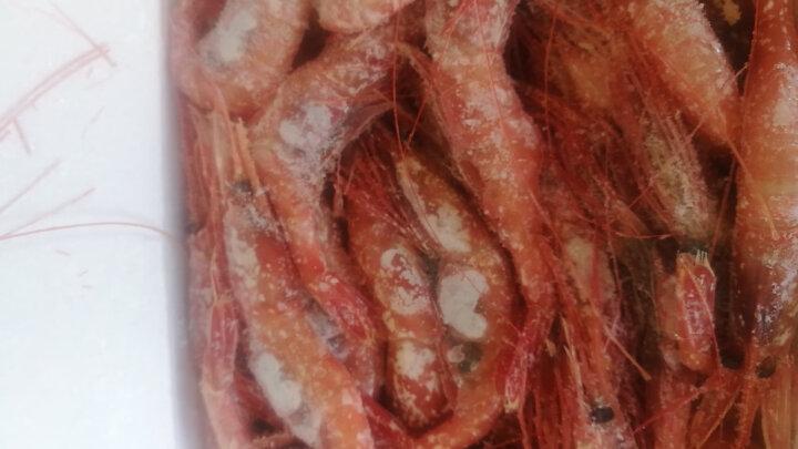 京鲜生 俄罗斯进口北极甜虾1L 1kg约60尾 盒装 晒单图