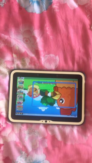小天才儿童平板K1 咖啡黄 16G 摄像头 护眼耐摔 儿童早教机家教机学习机 平板电脑故事机 晒单图