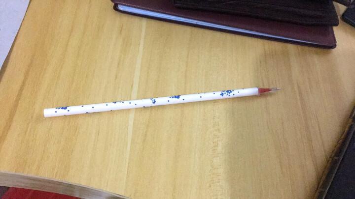 晨光(M&G)0.38mm黑色全针管笔芯中性笔签字笔水笔替芯 60支/盒HAGR0872 晒单图