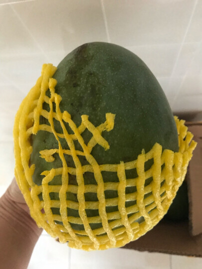 常枫 四川攀枝花凯特芒果5斤一级果大果新鲜水果大青芒京东生鲜 晒单图