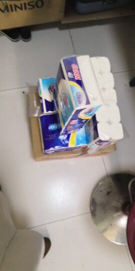 心相印卷纸 茶语系列卫生纸巾4层150g*10卷筒纸厕纸(提装销售) 晒单图