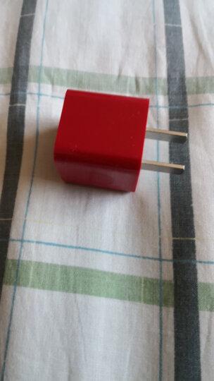 品胜 苹果充电器 安卓手机充电头/手机数据线插头 适用iPhoneXS max/XR/8/7P/6s/6/华为OPPO小米三星 中国红 晒单图