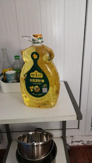 悦生合 菜籽油非转基因食用油 一级清香双低菜籽油 一级压榨菜油 5L(芥花籽油) 晒单图