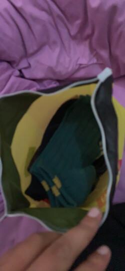 南极人袜子男纯色休闲商务棉袜男士袜子舒适透气中筒袜10双装 船袜彩标款10双装 均码 晒单图