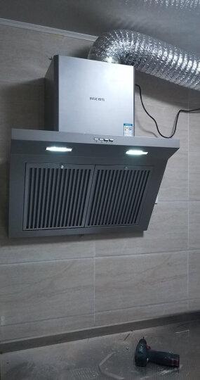 樱雪(INSE)油烟机灶具套装 侧吸式抽油烟机燃气灶套装 烟灶套装  (天然气)H1221W(Q)+QM1111 晒单图