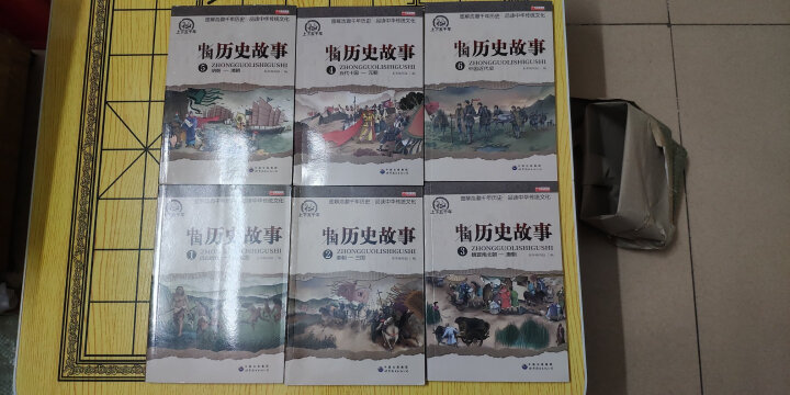 写给儿童的中国历史故事集全8册 7-10岁图书   小学生三四五六年级课外书 儿童文学书籍 晒单图