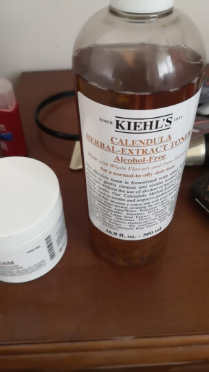 科颜氏(Kiehl's)金盏花植物爽肤水250ml补水保湿新老包装 随机发放 晒单图
