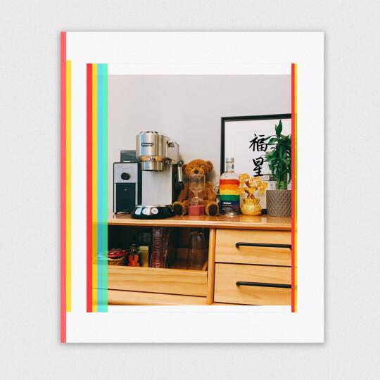 德龙(Delonghi)咖啡机 半自动咖啡机 意式浓缩 家用 商用 办公室 泵压式 EC680.R 红色 晒单图
