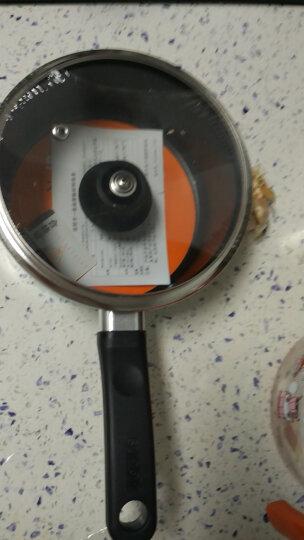 苏泊尔(SUPOR) 奶锅不粘锅小汤锅煮热牛奶锅宝宝辅食锅泡面电磁炉燃气 ET16KP01 薄荷绿 晒单图