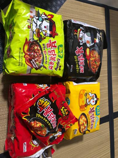 韩国进口(SAMYANG)三养辣鸡肉芝士味拌面 140g*5 方便面 超辣火鸡面拉面五连包泡面袋面速食零食品 晒单图
