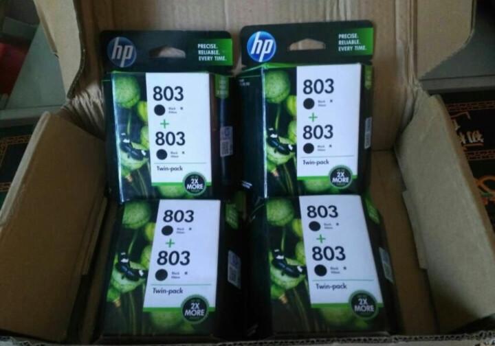 惠普(HP) 803原装墨盒1111/1112/2131/2132/2621/2622打印机墨盒 黑色+彩色墨盒 晒单图