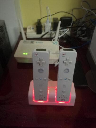 利乐普 WII手柄座充 WII手柄双充带双电池带USB充电线 小沙发座充 白色座充带1个WII直柄 晒单图