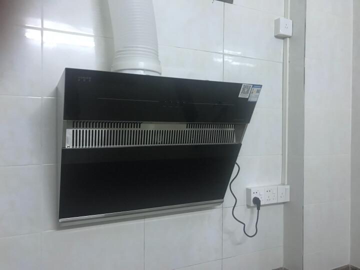 欧尼尔(OUNIER)小厨房专款免拆洗油烟机大吸力抽油烟机脱排烟机侧吸式近吸脱排吸烟家用668J 无围板 包安装 晒单图