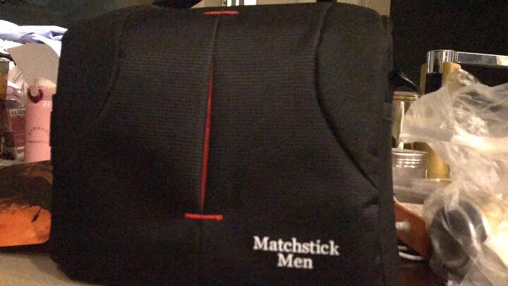 火柴人(MatchstickMen)HK06 一机一镜单反/微单相机包 (黑色) 晒单图