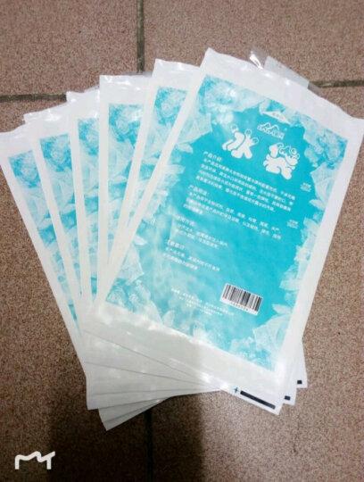 JAJALIN冰敷袋户外冰袋食品海鲜冷藏冰包 可重复使用注水型加厚保温冰袋400ML(6个装) 晒单图