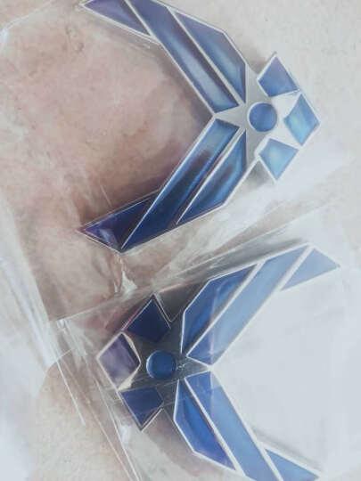 浮生 空军车贴汽车个性改装车标USAF车身贴后尾标侧标叶子板标贴装饰贴 空军长条侧门白色70*17.3CM H10207 晒单图