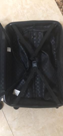 瑞动(SWISSMOBILITY)拉杆箱PC+ABS时尚轻盈登机箱旅行行李箱20英寸万向轮MT-5553-01T00暗红色 晒单图