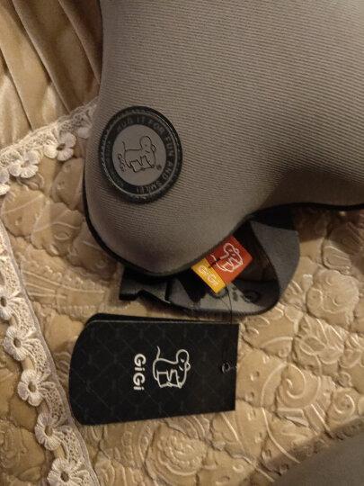吉吉(GiGi)汽车头枕护颈枕 G-1107太空记忆棉行车靠枕 杏色 晒单图