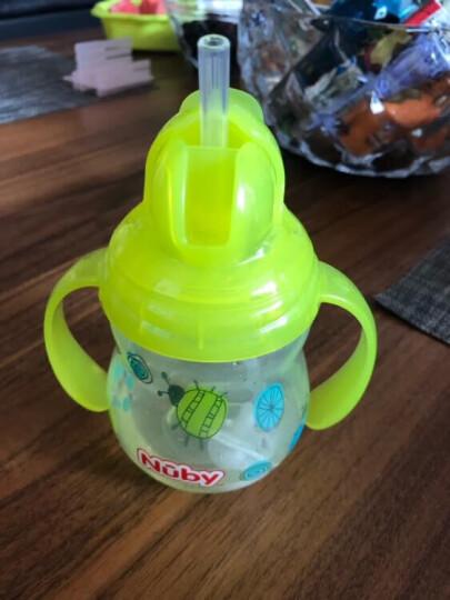 努比(Nuby)儿童学饮杯 婴儿水杯含重力球 硅胶鸭嘴杯防呛防胀气270ml 颜色随机 美国品牌 晒单图
