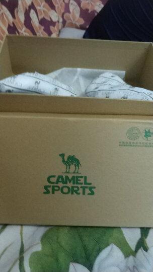 骆驼(CAMEL)运动鞋男女情侣款休闲透气跑步鞋慢跑鞋A712357085黑色42 晒单图