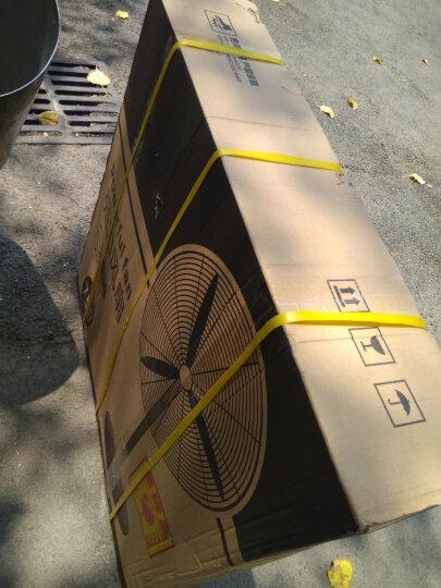 森和(SENHE)大功率工业电风扇机械式纯铜电机工厂车间立式强力大风量摇头牛角扇落地扇 500型落地扇 晒单图