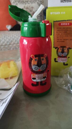 虎牌(tiger)儿童壶吸管保温杯宝宝壶水杯超轻保冷杯卡通真空MML-C06C 630ml 长颈鹿CG 晒单图